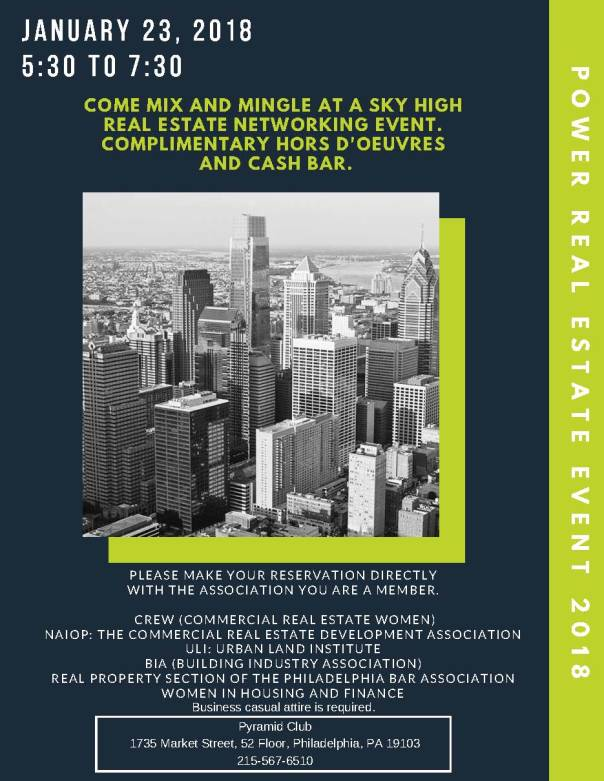 Power Real Estate Event 2018