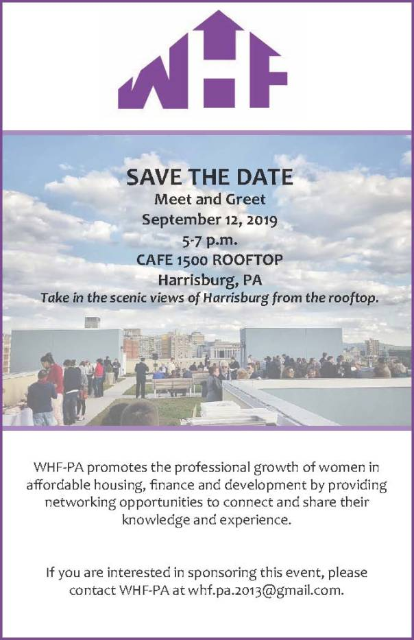 Save the date_women in housing and finance